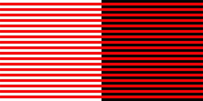 Эффект Безольда красные полосы