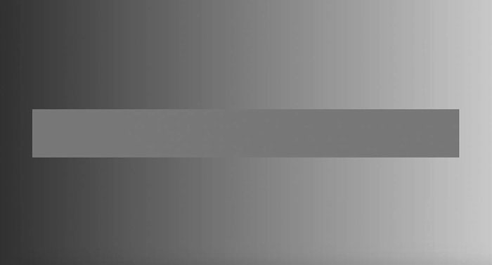 Эффект Безольда серый градиент