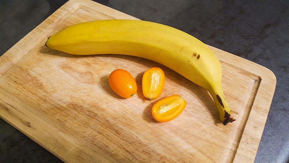 Кумкват и банан